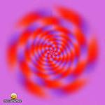 Иллюзия зрения — исчезающая картинка
